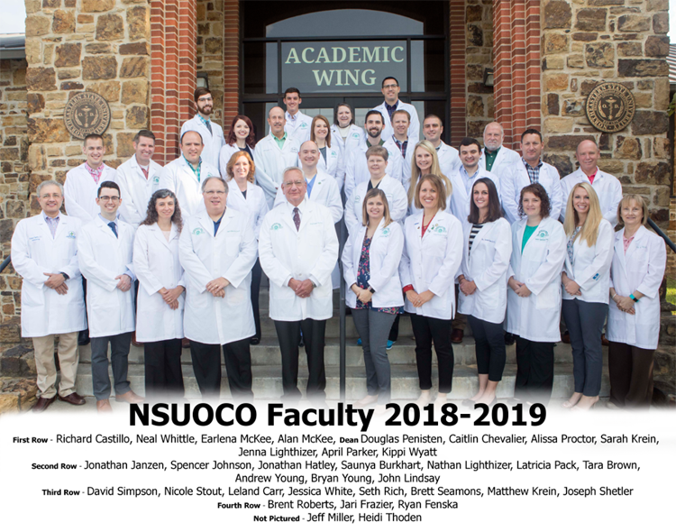 NSUOCO Faculty 2018-2019